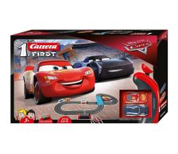Pojazd / tor i garaż Carrera First Disney Pixar Cars