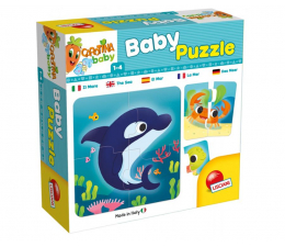 Puzzle dla dzieci Lisciani Giochi Carotina Baby Puzzle Ocean