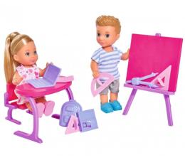 Lalka i akcesoria Simba Evi i Timmy w szkole