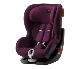 Fotelik 9-18 kg Britax-Romer King II Black Series Burgundy Red