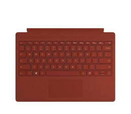 Klawiatura do tabletu Microsoft Type Cover do Surface Pro (Poppy Red)