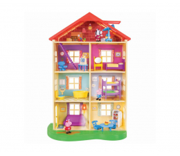 Figurka TM Toys Peppa Dom rodzinny ze światłem i dźwiękiem 00542