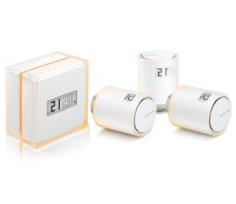 Sterowanie ogrzewaniem Netatmo Thermostat + 3x Valves