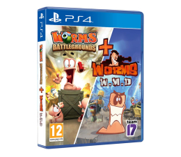 Gra na PlayStation 4 Sold Out Worms Battlegrounds + Worms W.M.D.