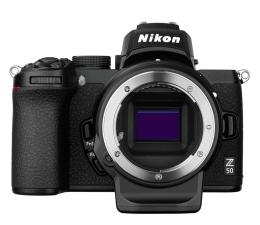 Bezlusterkowiec Nikon Z 50 + FTZ adapter