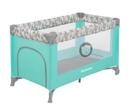Łóżeczko dla dziecka Lionelo Adriaa Plus Turquoise Scandi