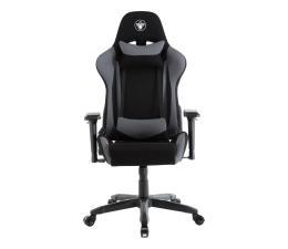 Fotel gamingowy Silver Monkey SMG-550 (Czarno-Szary) Tkanina