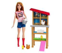 Lalka i akcesoria Barbie Kariera Farmerka z kurczętami
