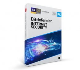Program antywirusowy Bitdefender Internet Security 2020 10st. (36m.) ESD
