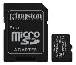Karta pamięci microSD Kingston 32GB microSDHC Canvas Select Plus 100MB/s