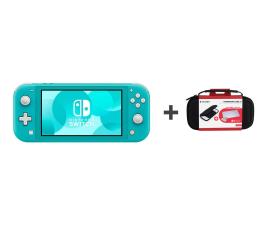 Konsola Nintendo Nintendo Switch Lite (Morski) + Etui + Szkło