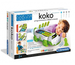 Zabawka edukacyjna Clementoni  Koko programowalny robot Krokodyl 50108