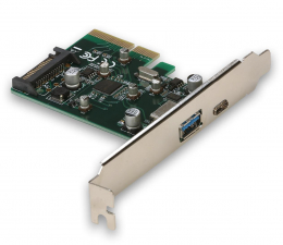 Kontroler i-tec Adapter PCIe - USB-C, USB, SATA