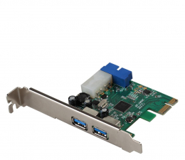 Kontroler i-tec Karta rozszerzeń PCIe - 4xUSB
