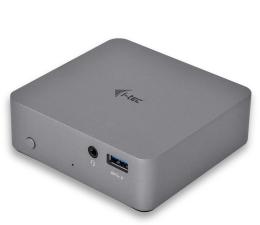 Stacja dokująca do laptopa i-tec USB-C - HDMI, USB, USB-C, RJ-45, Metal, 4K