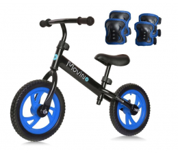 Rowerek Movino Sport + Ochraniacze Niebieskie