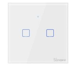 Przycisk/pilot Sonoff Dotykowy Włącznik T1 EU TX (WiFi+RF433 2-kanałowy)