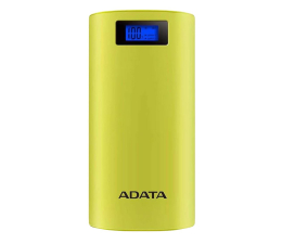 Powerbank ADATA Power Bank P20000D 20000mAh 2.1A (żółty)