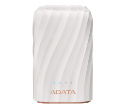 Powerbank ADATA Power Bank AP10050C 10000mAh, USB-C, 2.4A (biały)