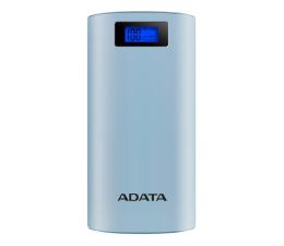 Powerbank ADATA Power Bank P20000D 20000mAh 2.1A (niebieski)