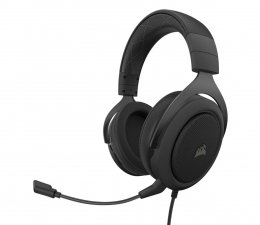 Słuchawki przewodowe Corsair HS60 PRO Surround Carbon