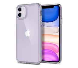 Etui / obudowa na smartfona Spigen Ultra Hybrid do iPhone 11 Crystal Clear