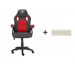 Fotel gamingowy Silver Monkey SMG-200 + Creative Muvo Mini