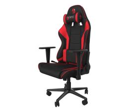 Fotel gamingowy SPC Gear SR300F V2 (Czarno-Czerwony) Materiał