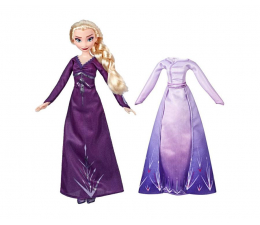 Lalka i akcesoria Hasbro Frozen 2 Stylowa lalka Elsa + ubranka