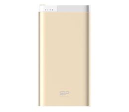 Powerbank Silicon Power Power Bank 10000 mAh, 2.1A, USB (złoty)