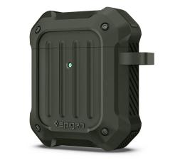 Etui na słuchawki Spigen Tough Armor do Apple Airpods zielone