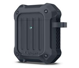 Etui na słuchawki Spigen Tough Armor do Apple Airpods grafitowe