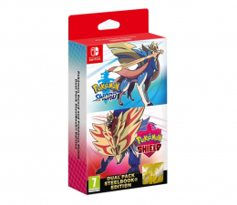 Gra na Switch Nintendo Pokemon Sword & Shield Dual Pack