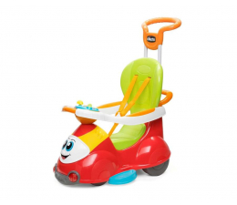 Jeździk/chodzik dla dziecka Chicco Jeździdło 4w1 czerwone
