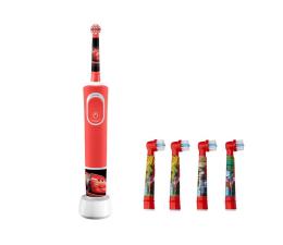 Szczoteczka elektryczna Oral-B D100 Kids Cars + końcówki EB10-4