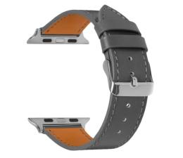 Pasek / bransoletka TOPP Pasek do Apple Watch 42/44mm Skóra szary