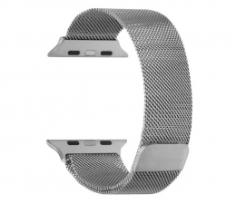 Pasek / bransoletka TOPP Pasek do Apple Watch 38/40mm Mesh srebrny