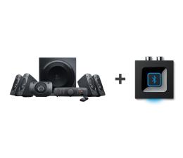 Głośniki komputerowe Logitech 5.1 Z906 + Bluetooth Audio Adapter