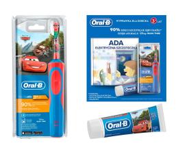 Szczoteczka elektryczna Oral-B D12 Kids Cars + Pasta + Książka