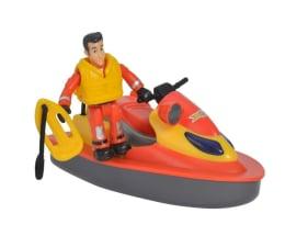Pojazd / tor i garaż Simba Strażak Sam Skuter ratowniczy z figurką
