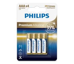 Bateria alkaliczna Philips Premium Alkaline AAA (4szt)