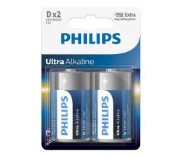 Bateria alkaliczna Philips Ultra Alkaline D (2szt)
