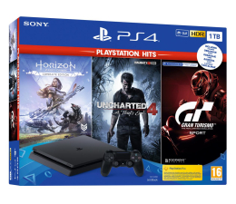 Konsola PlayStation Sony PlayStation 4 Slim 1TB + HITS