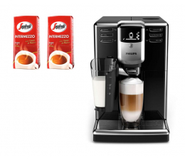 Ekspres do kawy Philips EP5340/10 LatteGO + 2 kg kawy Segafredo