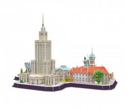 Puzzle do 500 elementów Cubic fun Puzzle 3D Warszawa Cityline