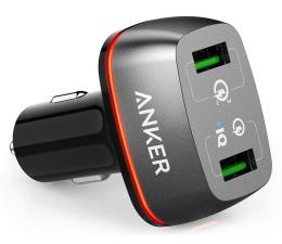 Ładowarka do smartfonów Anker Ładowarka samochodowa 2x USB, QC 3.0