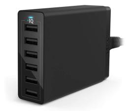 Ładowarka do smartfonów Anker Ładowarka sieciowa 6x USB