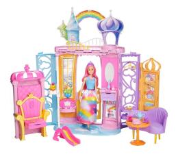 Lalka i akcesoria Barbie Tęczowy Pałacyk + Lalka