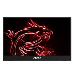 "Monitor LED 21"" i mniejszy MSI Optix MAG161V czarny mobilny"