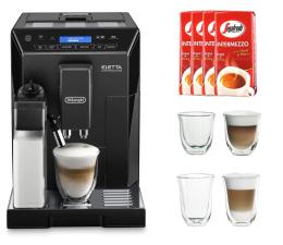 Ekspres do kawy DeLonghi ECAM 44.660.b+kawa+szklanki